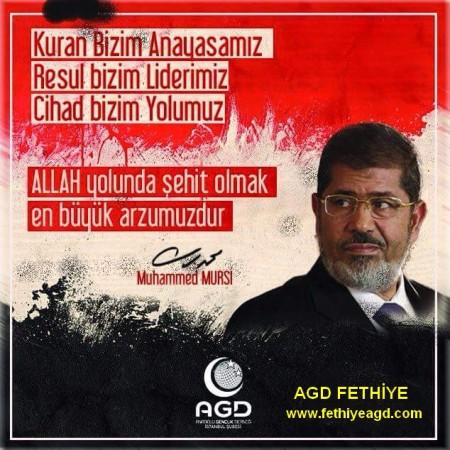 Muhammed Mursi ye idam cezası verildi.
